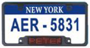 LED License Plate Cover