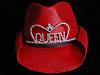 Texas Tiara in Red w/Queen